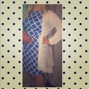 Blue AGB dress size 8